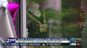 House of Ruth Maryland opens Ruth's Repeats [Video]