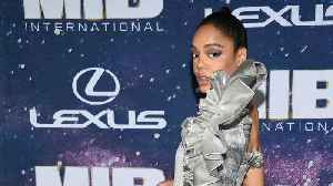 Tessa Thompson Gives Shout Out To Fan Cosplaying During 'Men In Black: International' Premiere [Video]