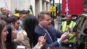 James Cordon greets fans during his run of UK shows [Video]