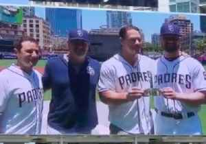 John Cena Makes Good on $1 Bet as Padres Pitcher Makes Major League Debut [Video]