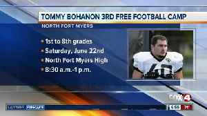 NFL player hosting free youth football camp in North Fort Myers Saturday [Video]