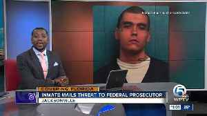 Florida inmate pleads guilty to mailing threat to prosecutor [Video]