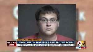 John Austin Hopkins, ex-Springboro teacher posts bond, leaves Warren County Jail [Video]