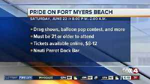 Pride Event scheduled on Fort Myers Beach Saturday [Video]