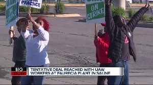 Deal: Nearly 2,000 auto workers heading back to work in Saline [Video]