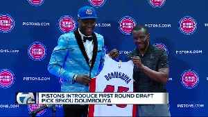 Pistons introduce first round pick Sekou Doumbouya [Video]