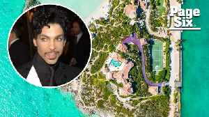 Prince's $11M Caribbean estate has a sprawling purple driveway [Video]