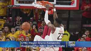 UMD Player Bruno Fernando Hopes To Become First Angolan To Play In NBA [Video]
