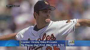 Former Baltimore Oriole Mike Mussina To Throw Out Ceremonial First Pitch Ahead Of Hall Of Fame Induction [Video]