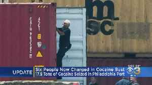 Sources: Amount Of Cocaine Seized At Philadelphia Port Rises To 17.5 Tons [Video]