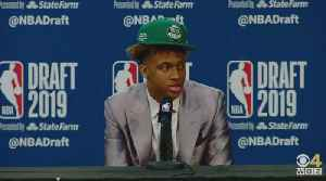 Romeo Langford On Being Drafted By Boston Celtics [Video]