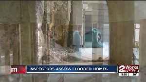 Inspectors assess flood damage to Town and Country homes [Video]