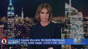 Apple Recalls MacBook Pro For Fire Risk [Video]