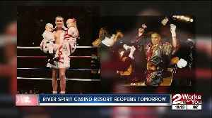River Spirit reopening kicks off with fight night promoted by Dale 'Apollo' Cook [Video]