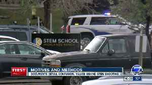 Affidavit: Juvenile suspect planned STEM School shooting, threatened other suspect [Video]
