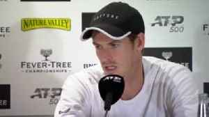 Murray feels 'zero discomfort' after win [Video]