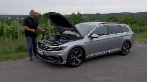 VW Passat GTE – How good is the new plug-in hybrid? [Video]