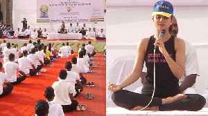 'Yoga helps to age gracefully': Shilpa Shetty on International Yoga Day [Video]