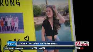 Teens named in Monday's deadly crash [Video]