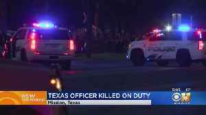 South Texas Police Officer Killed In Shooting, Suspect Arrested [Video]