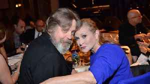 Mark Hamill campaigns for Carrie Fisher's Walk of Fame Star [Video]