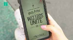 "Harry Potter ""Wizards Unite"" Mobile Game Launches [Video]"