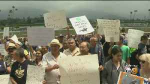 Santa Anita Workers Rally In Support Of The Park [Video]