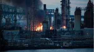 Reports Of Explosions As 'Massive' Fire Burns At Philadelphia Refinery [Video]