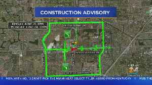 Traffic Alert: Intersection of Kendall Drive and SW 117th Avenue Shutdown All Weekend [Video]