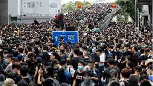 Anti-Extradition Protestors Once Again Flood Streets Of Hong Kong [Video]