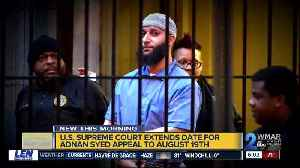 Adnan Syed's attorneys granted more time to appeal to U.S. Supreme Court [Video]