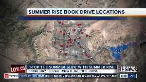 Last day of Summer Rise book drive [Video]