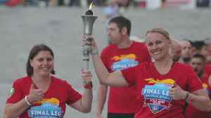 Officers Bring Special Olympics Torch To St. Paul [Video]