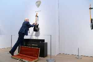News video: David Gilmour's Guitar Collection sells for record-breaking $21.5M