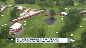 Rocket Mortgage Classic 5K race in downtown on Sunday [Video]