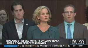 Boil Order Issued For City Of Long Beach After E. Coli Detected In Water [Video]