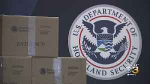 Authorities Show Some Of Cocaine Seized In Record-Setting Drug Bust [Video]