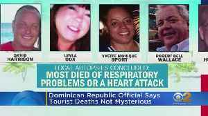 News video: State Department Confirms Two More American Deaths In Dominican Republic