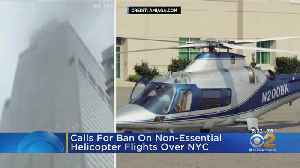 Lawmakers Urge FAA To Issue Temporary Flight Restrictions For Helicopters Over Manhattan [Video]
