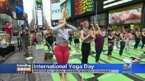 Get Your Yoga On! It's International Yoga Day [Video]