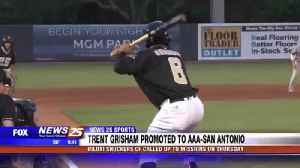 Shuckers CF Trent Grisham promoted to AAA-San Antonio [Video]