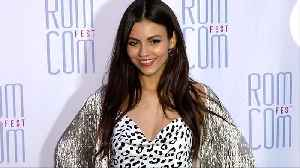 "Victoria Justice 2019 Rom Com Fest ""Summer Night"" Screening Pink Carpet [Video]"