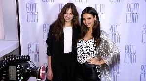 "Analeigh Tipton, Victoria Justice 2019 Rom Com Fest ""Summer Night"" Screening Pink Carpet [Video]"