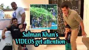 Salman's 'Back Flip' & Fun Play with Ahil VIDEOS gets attention [Video]