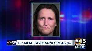 Mom leaves child at Peoria McDonald's to go to the casino [Video]