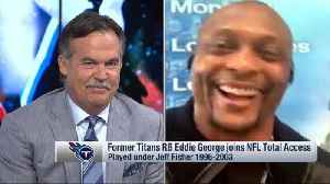 Former NFL running back Eddie George shares how former NFL head coach Jeff Fisher is a 'master of playing pranks on people' [Video]