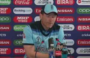 News video: Morgan calls for reaction after shock Sri Lanka defeat