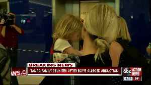 Tampa child allegedly abducted by father & taken to Lebanon returning home [Video]