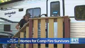 Permanent Shelter For Camp Fire Victims [Video]