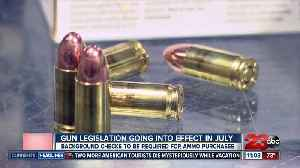 Background checks to be required for ammunition purchases [Video]